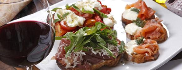spécialités italiennes